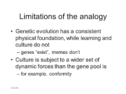 Genes And Memes - 3 21 01 models of genetic and cultural evolution part 2 college
