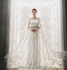 fairytale inspired wedding dresses tale 20 statement wedding gowns with capes