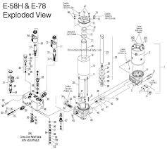 e 58h parts list