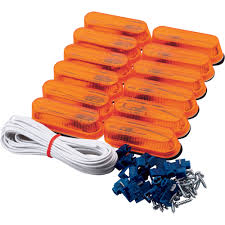 blazer incandescent oval clearance and side marker kit 12 pk