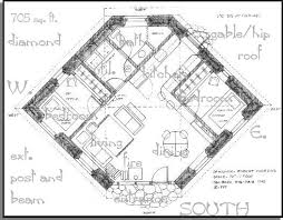 small courtyard house plans a straw bale house plan 705 sq ft