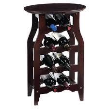 side table wine rack side table rattan bordeaux wine rack side