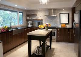 Open Shelf Kitchen Cabinet Ideas by Kitchen Style Contemporary Bookshelf Kitchens Hanging Bookshelf