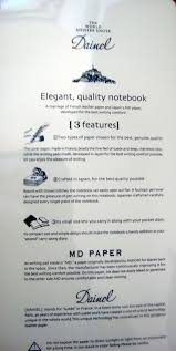paper with writing on it notebook review page 4 the unroyal warrant midori world meister s note vol 1