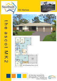 steelbuilt homes kit homes qld steel frame homes steel kit homes