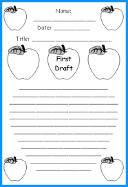 unique apple writing templates fun back to printable