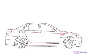 ferrari sketch side view draw a bmw step by step drawing sheets added by carmasterg9