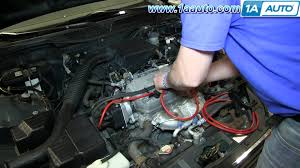 how to install replace spark plug wires 1996 00 1 6l honda civic