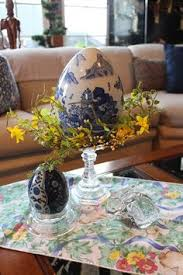 Easter Decorations For Coffee Table by Designs By Pinky Easter In My Kitchen Easter Pinterest