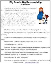 reading comprehension stories 4th language arts