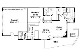 rectangular home plans house plan contemporary house plans parkview 30 905 associated