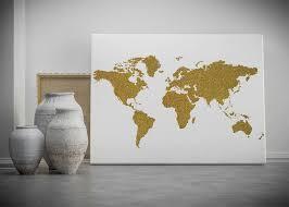 Best 25 World map wall decor ideas on Pinterest