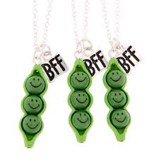 peas in a pod keychain best friends peas in a pod pendant necklace pack 2 s us