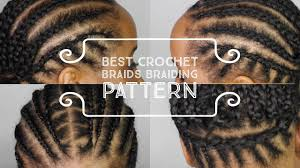 best cornrow braiding pattern to get your crochet box braids