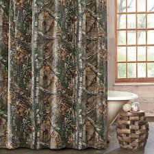 Camouflage Bathroom Realtree Xtra Camo Shower Curtain Kimlor Mills Inc