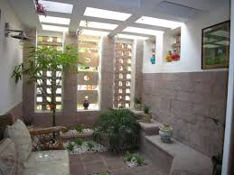 Interior Courtyard Ansari Architects Interior Designers Chennai