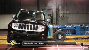 jeep van 2014 euro ncap crash test of jeep renegade 2014 youtube