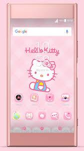 hello kitty themes for xperia c pink kitty nd xperia theme latest version apk androidappsapk co