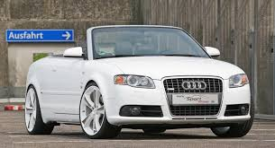 audi a4 coupe convertible audi a4 2 0 tfsi convertible tuned to 260hp by sport wheels