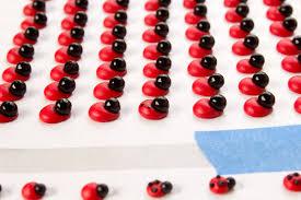 Ladybug Kitchen Decor Edible Ladybug Decorations U0026 Templates The Bearfoot Baker