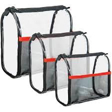 basics 2 in 1 shower travel bag set 5 pc walmart com