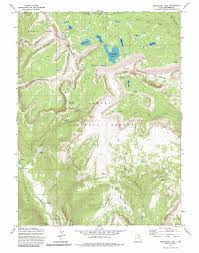 Utah Colorado Map by Grandaddy Lake Topographic Map Ut Usgs Topo Quad 40110e7