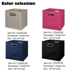 china cardboard non woven collapsible storage box with grommet