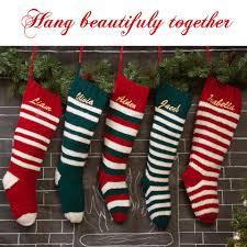 knit christmas white 6 stripe knit christmas knit