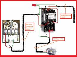 single phase motor contactor wiring electrical mechanics pics b