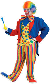 party city halloween clown costumes