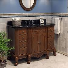 48 Bathroom Vanity With Granite Top Jeffrey Alexander Clairemont Bath Elements Bathroom Vanity With
