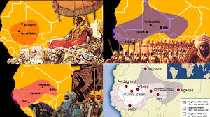 Map Of Mali The Armies Of Ghana And Songhai Weapons And Warfare