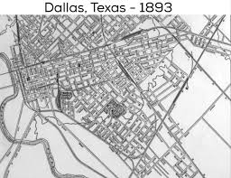 Dallas County Map by Dallas Street Map 1893 Dallas Pinterest Dallas Texas And