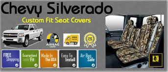 Camo Bench Seat Covers For Trucks Covers Chevy Custom Fit Truck Seat Covers