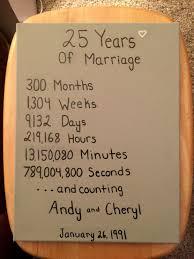 year wedding anniversary gift photographic gallery 25 year wedding anniversary gift ideas best