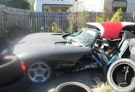 Dodge Viper 1970 - 6500 crash victim 1995 dodge viper rt 10 bring a trailer