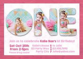 baby first birthday invitation cards choice image invitation