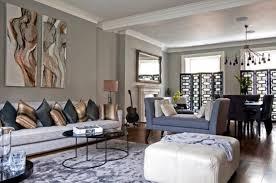 Gray Sofa Decor Comfortable Large Living Room With Grey Sofa Grey Rug And Wooden