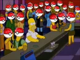 Meme Generator Homer Simpson - homer simpson pokemon blank template imgflip
