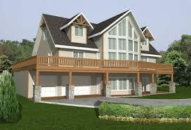 wrap around deck plans wraparound deck with garage options 35386gh architectural
