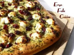 eryn et sa folle cuisine focaccia chèvre frais basilic cranberries eryn et sa folle cuisine