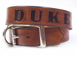 leather collar personalized personalized collars