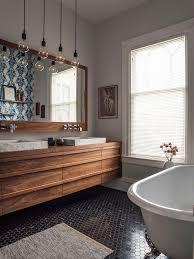 Walnut Bathroom Vanity Cluster Pendant Light Bathroom Contemporary With Walnut Bathroom