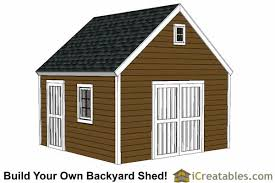 Diy Garden Shed Designs by 14x14 Shed Plans Build A Large Storage Shed Diy Shed Designs