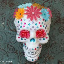 Sugar Skull Tutorial Halloween Decor Crafts Unleashed