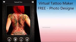 virtual tattoo maker free photo designer to add artist tattoos