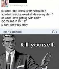 Kill Your Self Meme - funny kill yourself meme funny pictures