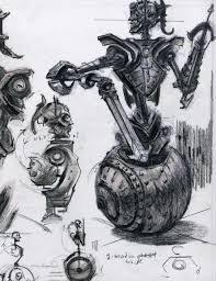 random sketches video games artwork