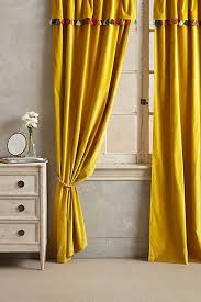 Mustard Colored Curtains Inspiration Bella Porte Citrine Curtain Panels Crate And Barrel