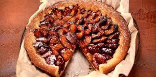 cuisine sans sucre tarte aux prunes à l ancienne sans sucre ni beurre facile et pas